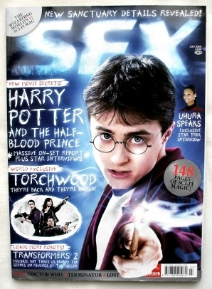 Harry Potter. Daniel Radcliffe. SFX Magazine #184 July 2009